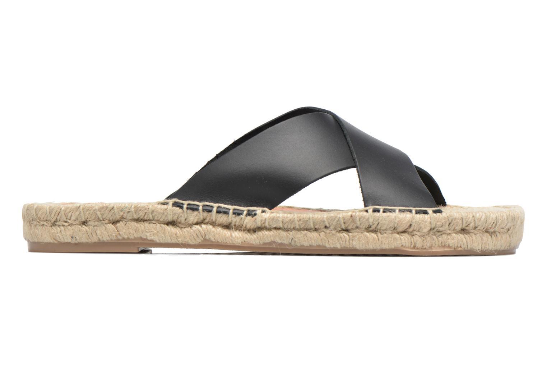Sandales et nu-pieds Gioseppo Ateneo Noir vue derrière
