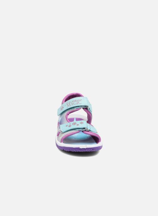 Sandales et nu-pieds Frozen NESS Bleu vue portées chaussures