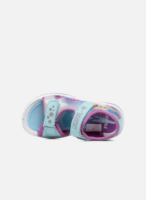Sandales et nu-pieds Frozen NESS Bleu vue gauche