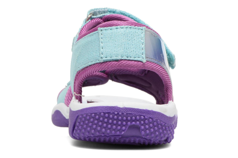 Sandales et nu-pieds Frozen NESS Bleu vue droite