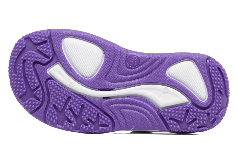 Sandales et nu-pieds Frozen NESS Bleu vue haut