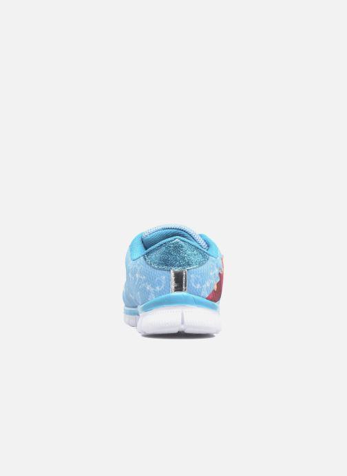 Sneaker Frozen GLACE blau ansicht von rechts
