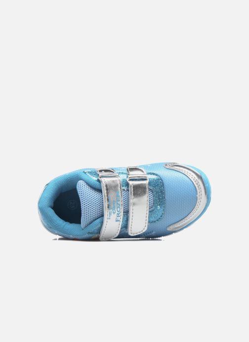 Baskets Frozen GLACE Bleu vue gauche