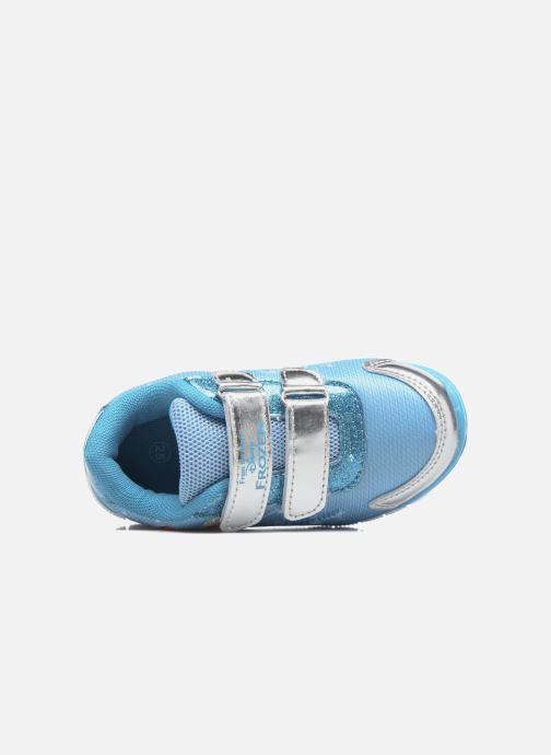 Sneaker Frozen GLACE blau ansicht von links