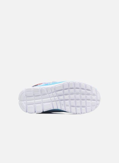 Sneaker Frozen GLACE blau ansicht von oben