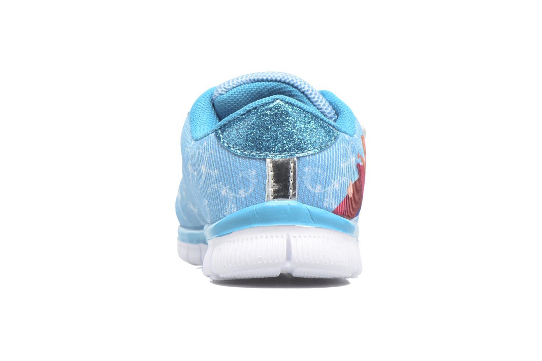 Baskets Frozen GLACE Bleu vue droite