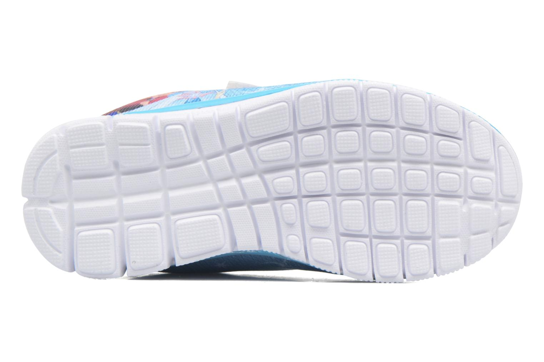 Baskets Frozen GLACE Bleu vue haut