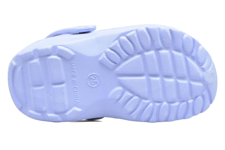 Sandales et nu-pieds Frozen TATIANA Bleu vue haut
