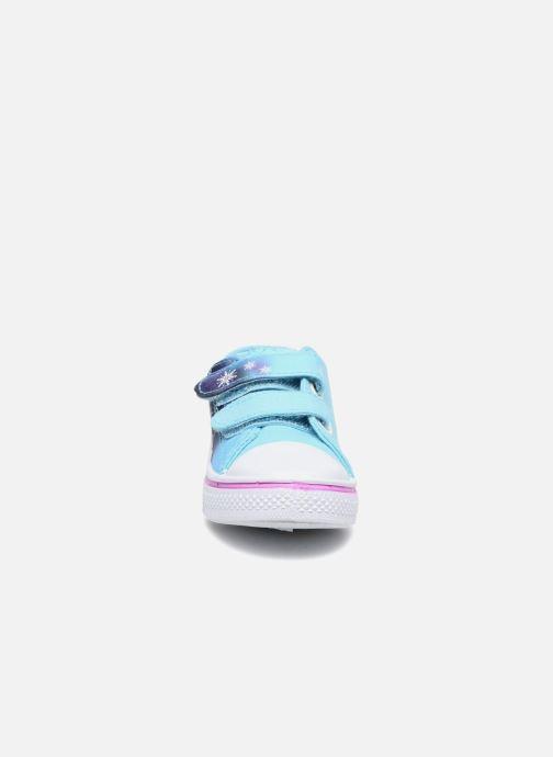 Baskets Frozen KYRIELLE Bleu vue portées chaussures