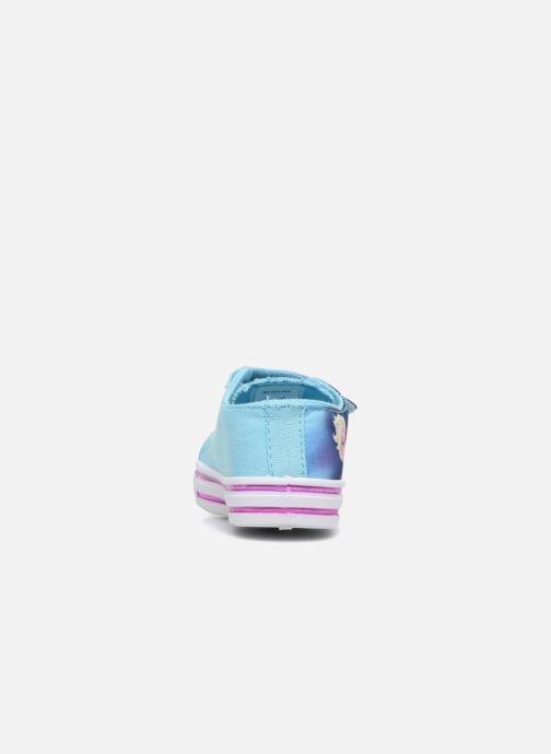 Sneaker Frozen KYRIELLE blau ansicht von rechts