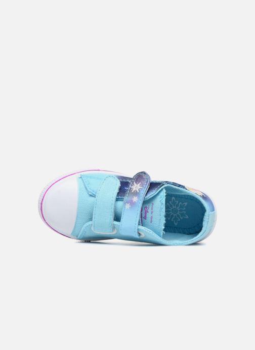 Sneaker Frozen KYRIELLE blau ansicht von links