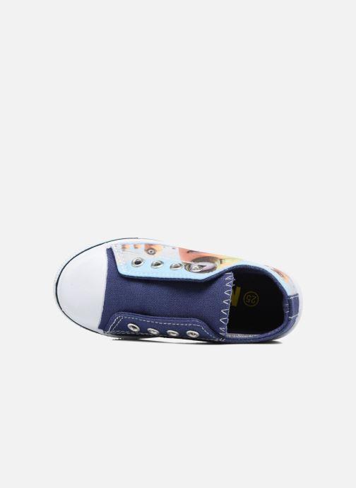 Sneakers Minions Kampala Azzurro immagine sinistra