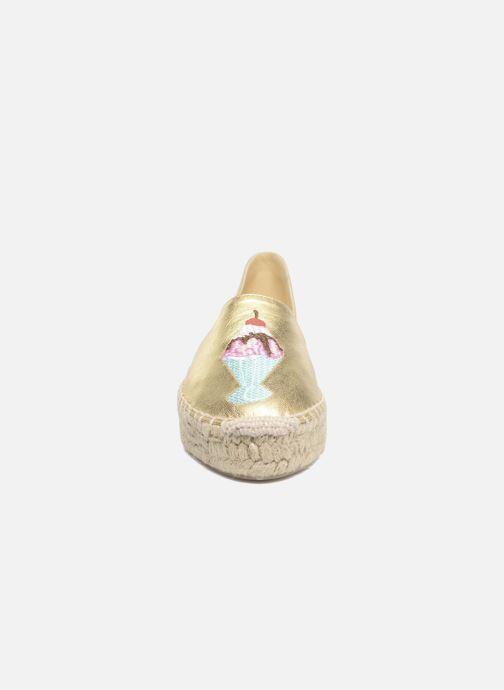 Espadrillos Apologie Yvette Guld og bronze se skoene på