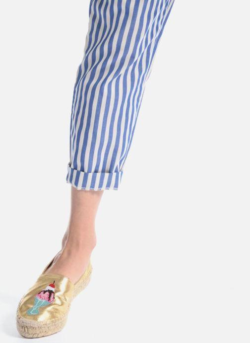 Scarpe di corda Apologie Yvette Nero immagine dal basso