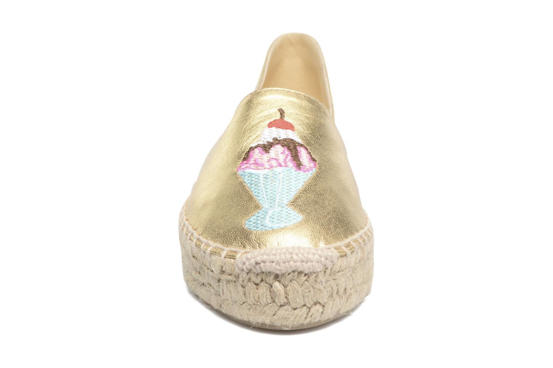 Espadrilles Apologie Yvette Or et bronze vue portées chaussures