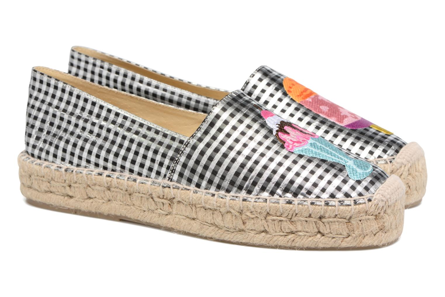 Espadrilles Apologie Yvette Black 3/4 view
