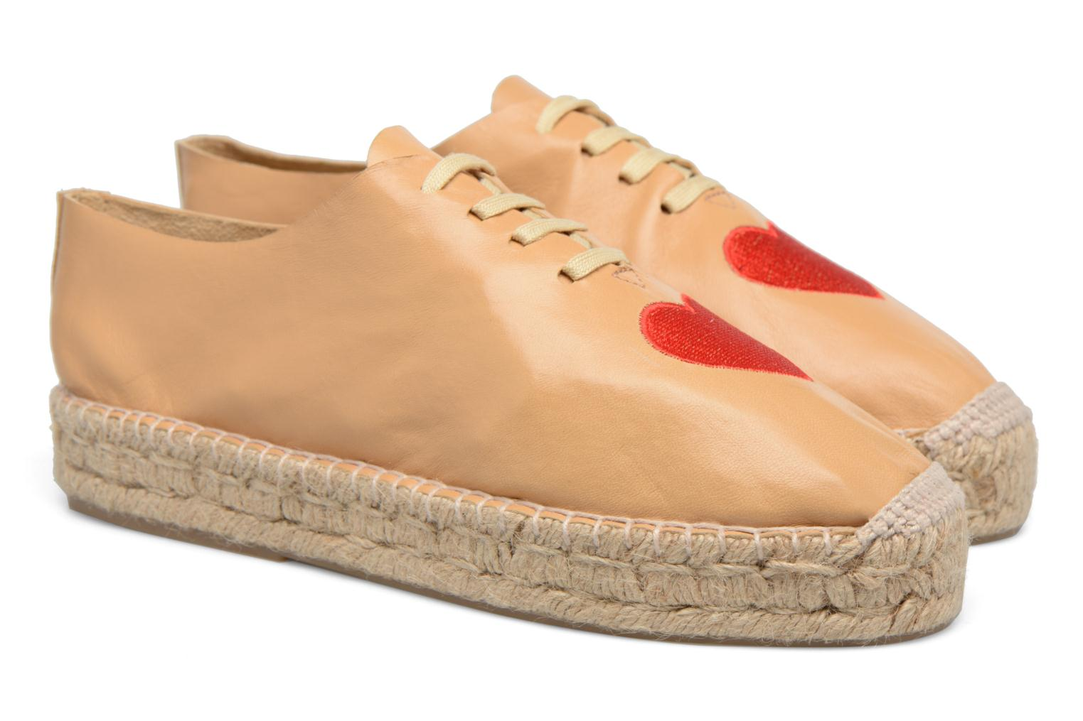 Espadrilles Apologie Adrienne Brown 3/4 view