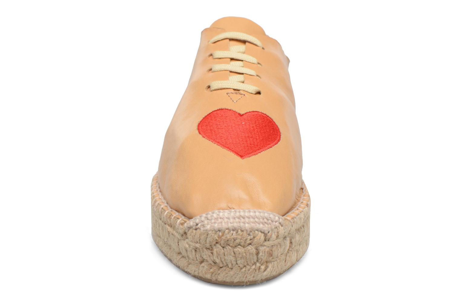 Espadrilles Apologie Adrienne Brown model view