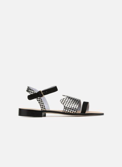 Sandales et nu-pieds Apologie Vague Noir vue derrière