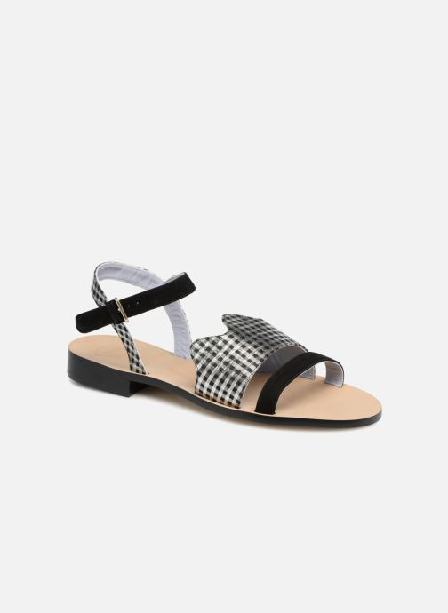 Sandales et nu-pieds Apologie Vague Noir vue détail/paire