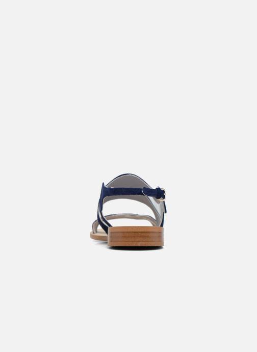 Sandales et nu-pieds Apologie Wavy Bleu vue droite