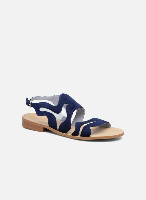 Sandales et nu-pieds Apologie Wavy Bleu vue détail/paire
