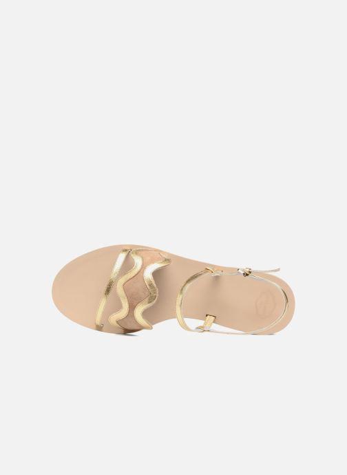 Sandales et nu-pieds Apologie Nemo Or et bronze vue gauche
