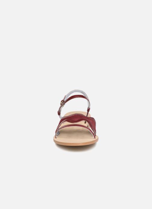 Sandales et nu-pieds Apologie Nemo Bordeaux vue portées chaussures