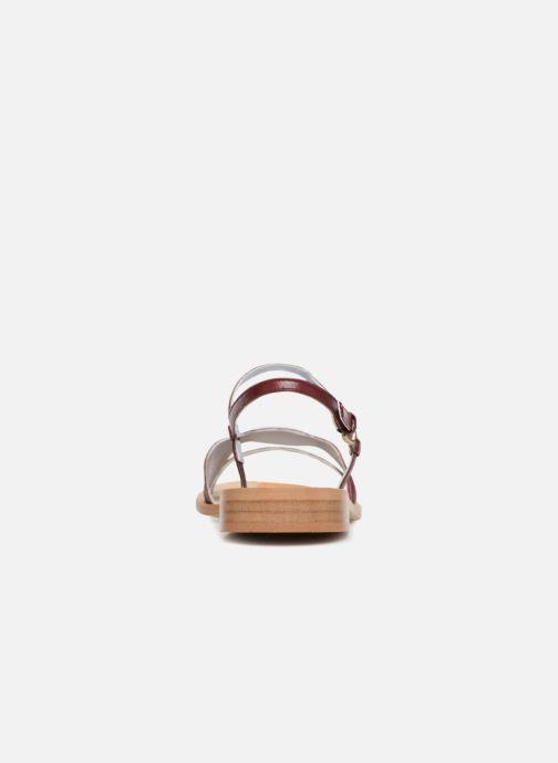 Sandales et nu-pieds Apologie Nemo Bordeaux vue droite