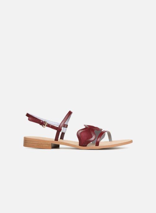 Sandales et nu-pieds Apologie Nemo Bordeaux vue derrière