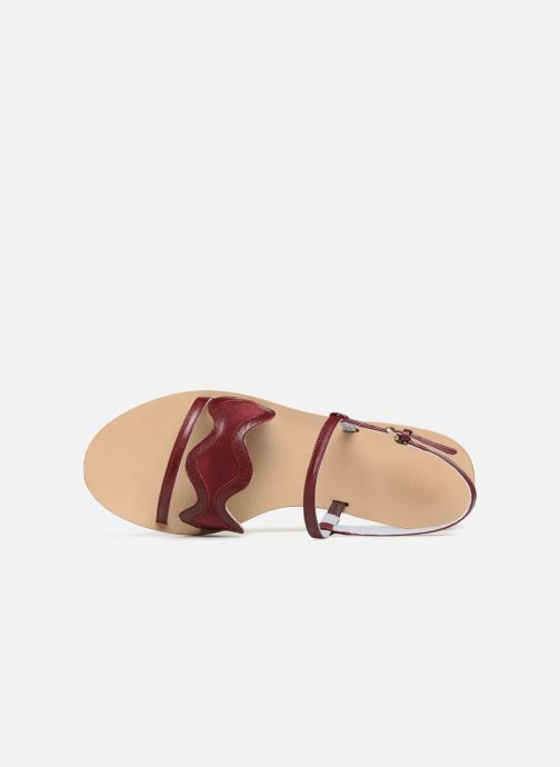 Sandalen Apologie Nemo Bordeaux links