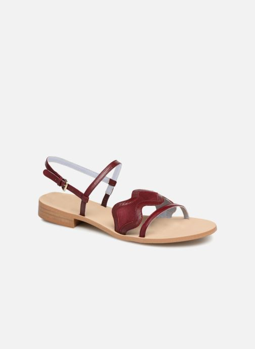 Sandalen Apologie Nemo Bordeaux detail