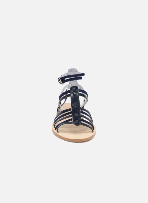 Sandales et nu-pieds Apologie Medusa Bleu vue portées chaussures