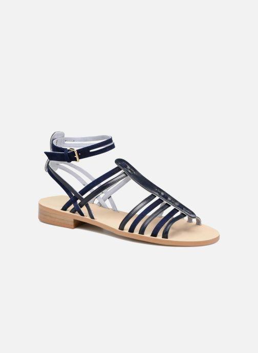 Sandales et nu-pieds Apologie Medusa Bleu vue détail/paire