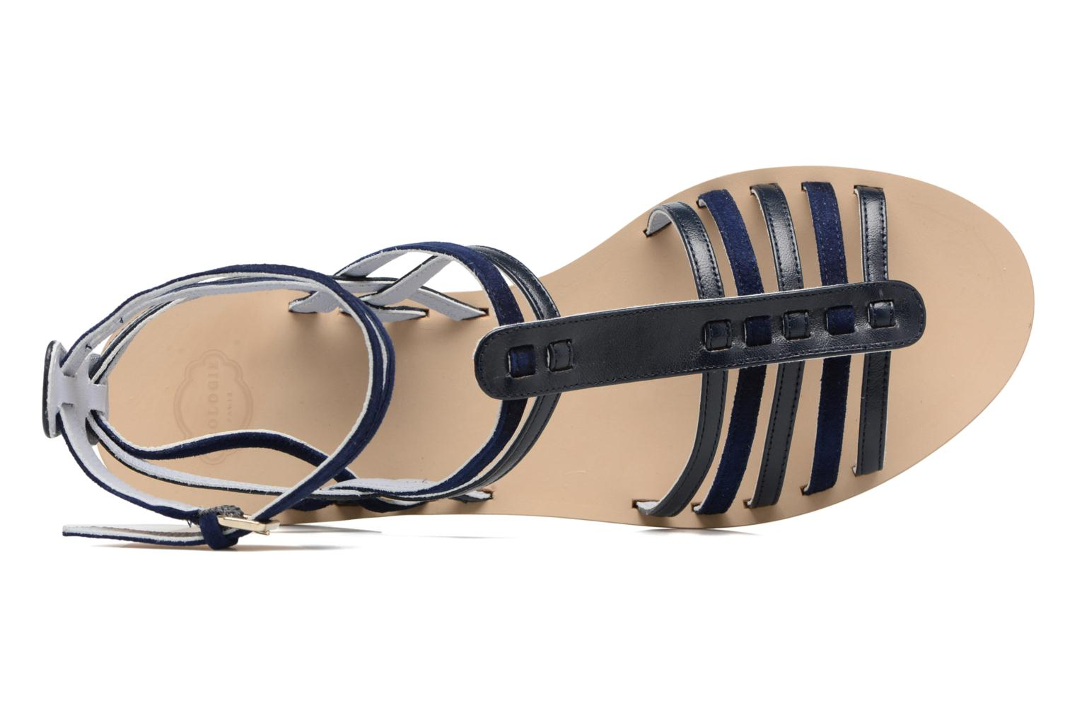 Sandalen Apologie Medusa Blauw links