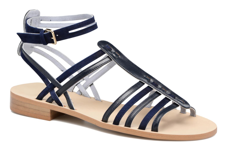 Sandaler Apologie Medusa Blå detaljeret billede af skoene