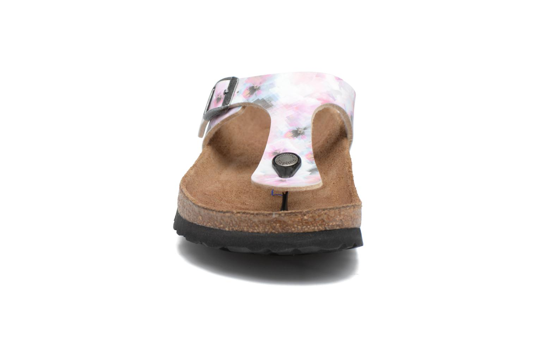 Mules et sabots Papillio Gizeh Rose vue portées chaussures