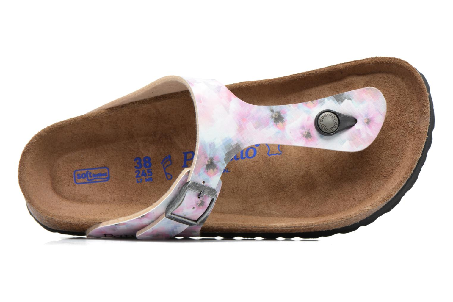Mules & clogs Papillio Gizeh Pink view from the left