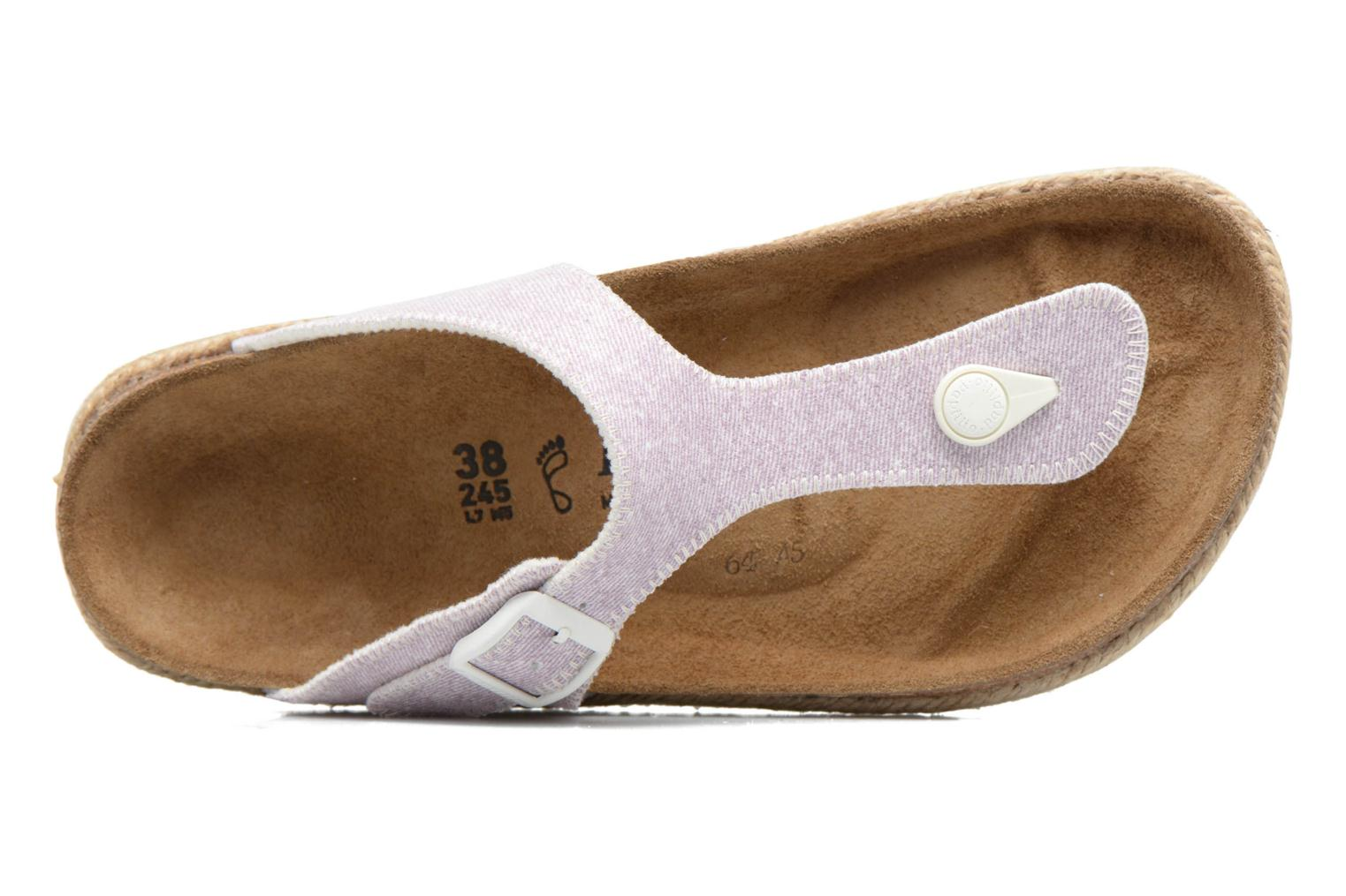Mules & clogs Papillio Gizeh Purple view from the left