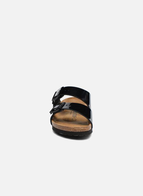 Birkenstock Arizona Cuir Soft Footbed (Noir) - Mules et sabots chez  (297588)