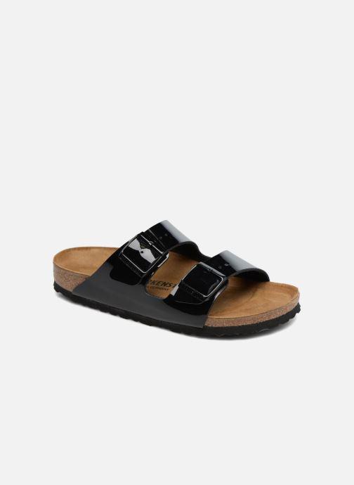 7a02d00c5df8 Birkenstock Arizona Cuir Soft Footbed (Black) - Mules & clogs chez ...