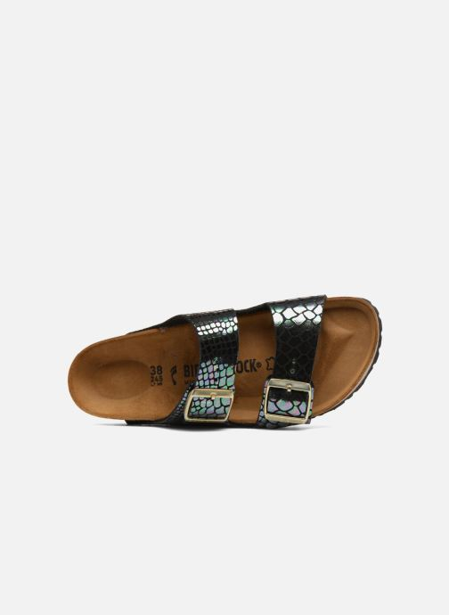 Wedges Birkenstock Arizona Cuir Soft Footbed Zwart links