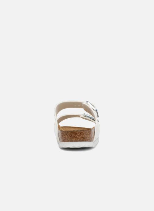 Wedges Birkenstock Arizona Cuir Soft Footbed Wit rechts