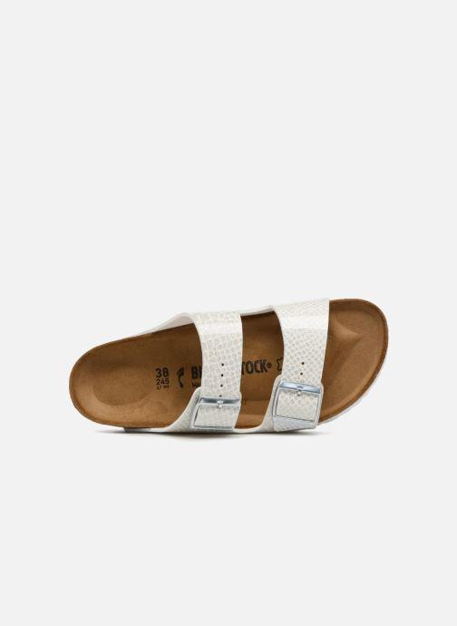 Wedges Birkenstock Arizona Cuir Soft Footbed Wit links