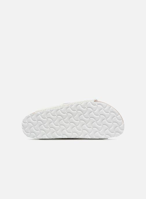 Wedges Birkenstock Arizona Cuir Soft Footbed Wit boven