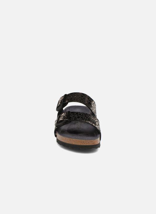 Clogs & Pantoletten Birkenstock Arizona EVA W schwarz schuhe getragen