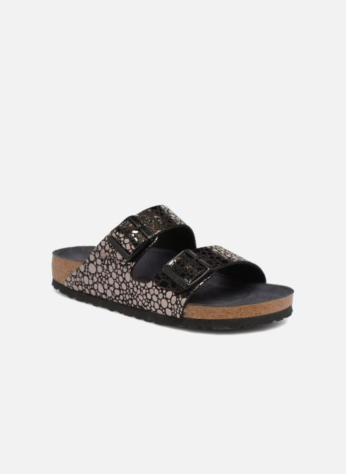 Wedges Birkenstock Arizona Cuir Soft Footbed Zwart detail