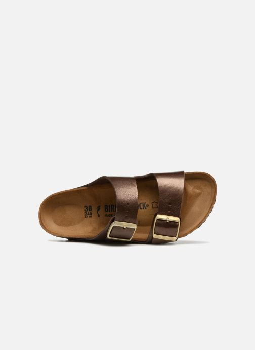 Wedges Birkenstock Arizona Cuir Soft Footbed Bruin links