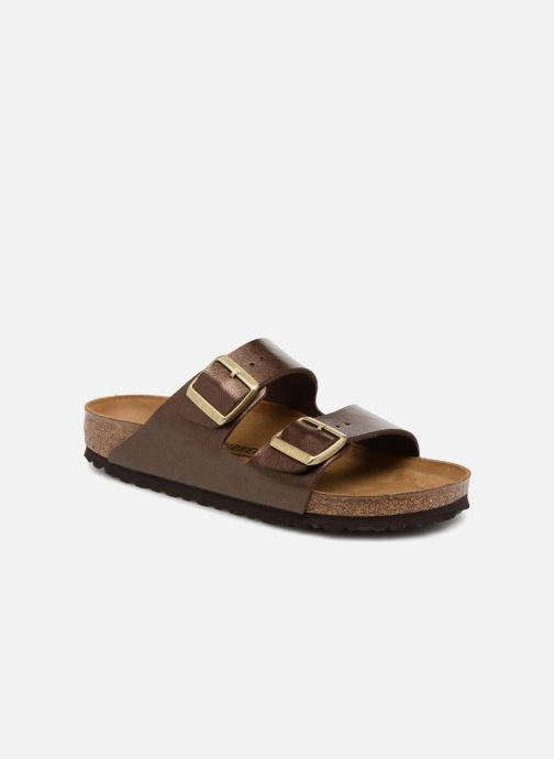 Wedges Birkenstock Arizona Cuir Soft Footbed Bruin detail