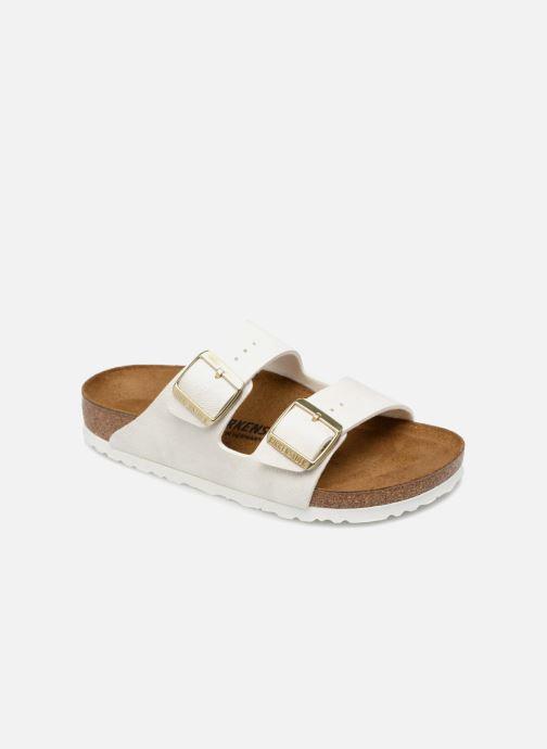Clogs og træsko Birkenstock Arizona W (Smal model) Hvid detaljeret billede af skoene